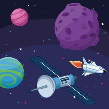 satelitarne-statki-kosmiczne-planety-ksiezyc-gwiazdy-eksploracja-przestrzeni-kosmicznej_18591-62985