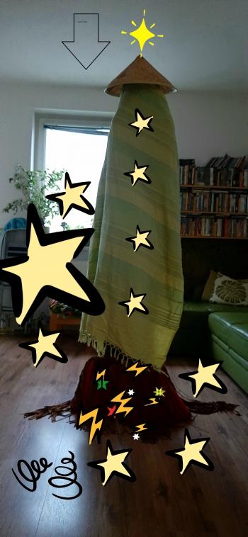 rakieta zielona
