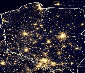 polska nocą