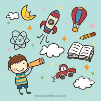 recznie-malowane-dzieciaka-z-luneta_23-2147531527