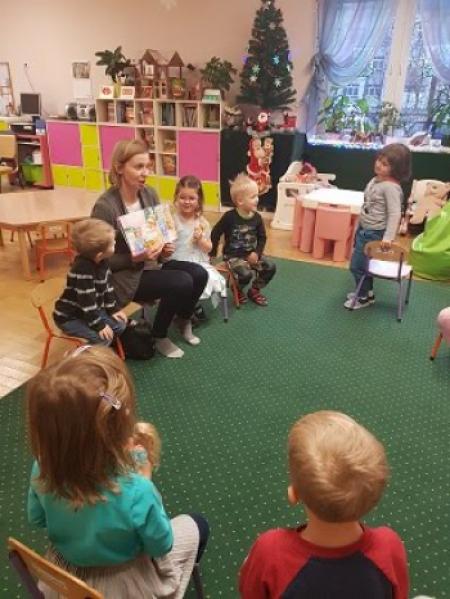 Rodzinne czytanie - Mama Oliwki