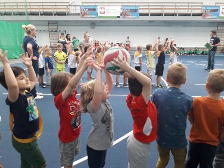 Sport ważna sprawa, wie o tym nasza przedszkolaków gromada
