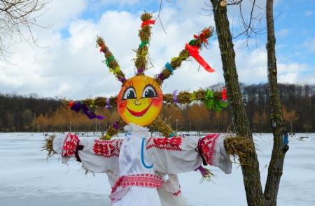 Witaj Wiosno! - ,,Marzanna zimowa panna