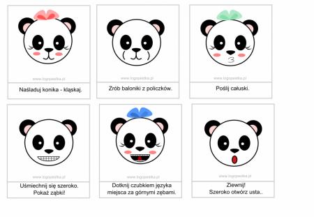 Panda stroi miny