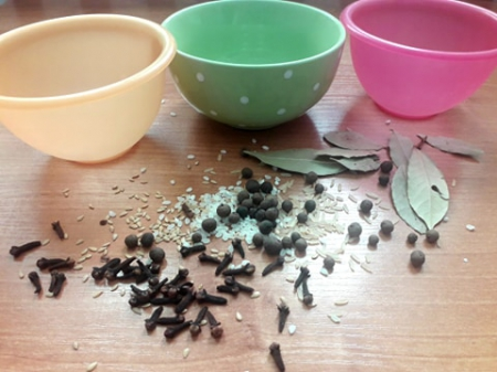 Zabawa - pomocnicy kuchenni