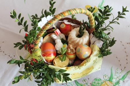 Wielkanocny koszyczek