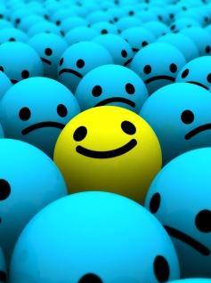 Uśmiech pośrodku smutku