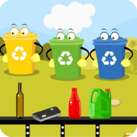 Śmieci segregować to znaczy Ziemię szanować