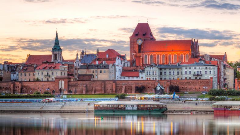 Z biegiem Wisły - Toruń