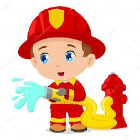 Zostanę strażakiem.