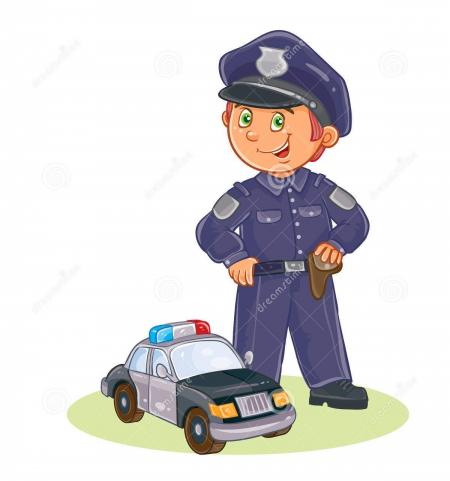 Zostanę policjantem.